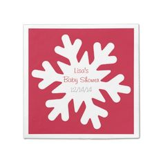 Avoid any messy dinners with napkins from Zazzle. Browse through our marketplace of paper and cloth napkins ranging in different styles and sizes. Baby Shower Napkins, Party Napkins, Cocktail Napkins, Christmas Paper Napkins, Holiday Essentials, Paper Snowflakes, Cloth Napkins, Cocktails, Winter