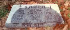 Genealogical Gems: Tombstone Tuesday: O'Flaherty Family