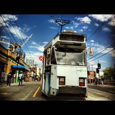Tram number 8 by the South Yarra Railway Station, Melbourne VIC #australia #travel