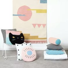 Me-wow! A sweet-faced cat becomes a buddy for your living space!  This Charcoal Grey Otto Cat Cushion from Australian homewares label Arro Home is a soft velvet beaut. Perfect for the couch occasional chair or bedroom - and they're not just for kids... Check it out over at For Keeps #arrohome #catcushion #cushion #cushionlove #forkeepsstore