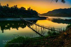 pont / bridge / Sunset