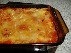 casserole from the Amish