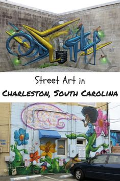 Street Art in Charleston South Carolina, USA
