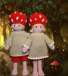 Children of the Forest - crochet pattern. €4.50, via Etsy.