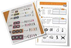 Affichage et exercices des valeurs de la lettre O | Bout de Gomme