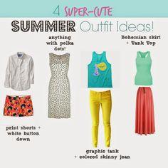 4 Super-Cute Summer Outfit Ideas