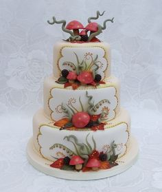 Autumn Florals & Single-tiered Simplicity - Friday Faves - Cake Central