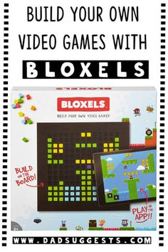 Do kids spend too much time in front of screens? Bloxels is a great balancing act that promotes creativity. Learn to code your own video games with the family! New Online Games, Online Video Games, Kids Online, Family Video Games, Video Games For Kids, Games To Play With Kids, Games For Toddlers, Make A Video Game, Game Programming