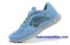 promo code 04abc e7004 Femmes Nike Free Run - Totale Prisme Bleu Anthracite Logo - Chaussure De  Running,Fashionable and quality sports shoes here just for you.