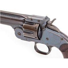 Rare S&W Model 3 Schofield 1st Model SA Revolver