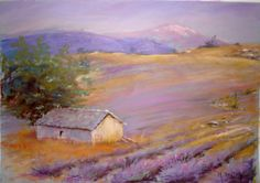 Pastel Art, Provence, Lavender, Drawings, Painting, Inspiration, Watercolor Painting, Canvases, Water Colors