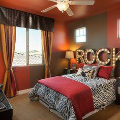 rock themed bedroom | ... bedroom decorating ideas - rock star ...
