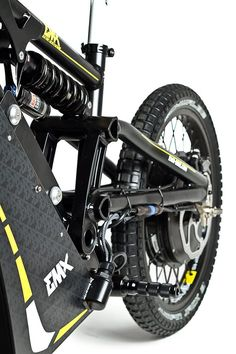 The EMX bikes use RockShox forks and rear shocks