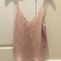 Pookie & Sebastian Scalloped Silk Tank Only worn once - such a great top to wear out or to work! Can be paired with a cute blazer. The back is the best part with the low cut. Pookie & Sebastian  Tops Tank Tops