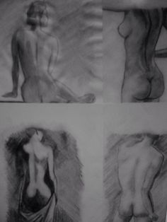 Drawings - human body