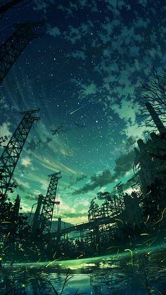 Digital Painting / Concept Art / Landscape / SciFi / Science Fiction / Other Planet / Future / Surreal / Mystic / Fantasy //♥ Fantasy Landscape, Landscape Art, Fantasy Art, Fantasy Dragon, Anime Scenery Wallpaper, Landscape Wallpaper, Anime Backgrounds Wallpapers, Twilight Sky, Wow Art