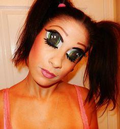 Zombie / evil dead deadite Halloween makeup | Halloween ...