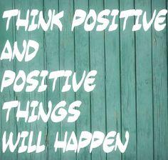 Pozytywne myślenie to podstawa sukcesu!