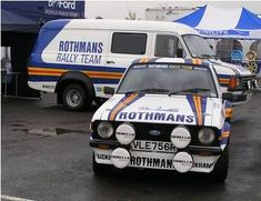 Ford Escort Mk II, Rothmans Rallye Team
