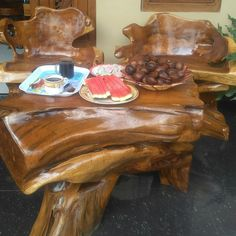 Natural Teak Root furnitur