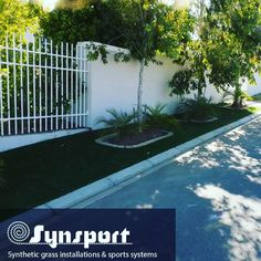 A Synsport Installation 🌱: 222sqm full base work at Prestige in Fresnaye.  SWITCH TO AN ARTIFICIAL GRASS LAWN – SOFT, SAFE AND LOOKS JUST LIKE REAL GRASS! #syntheticlawn #savewater #synsport #syntheticgrass #southafrica #capetown #sportsurface #lawn #home #installation #Fresnaye