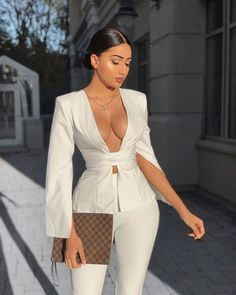 Boujee Outfits, Cute Casual Outfits, Stylish Outfits, Dress Casual, Suit Fashion, Look Fashion, Fashion Dresses, Winter Fashion, Fashion Women