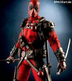 Deadpool: Wade Winston Wilson, Deluxe-Figur (voll beweglich) ... https://spaceart.de/produkte/dpl001.php