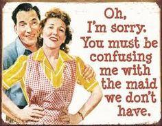 Housewife humor :-)~