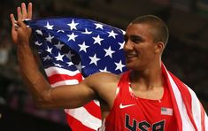 Ashton Eaton defends 2014 gold medals as part of USA's Track & Field team.