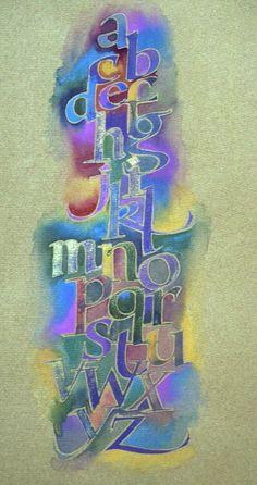 beautiful calligraphy by roann mathias