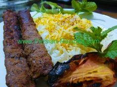BOMB Persian Koobideh Recipe (Ground Beef Persian Kabob)