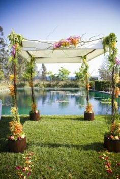 1000 images about chuppah crushes on pinterest chuppah for Malibu rocky oaks estate vineyards wedding cost