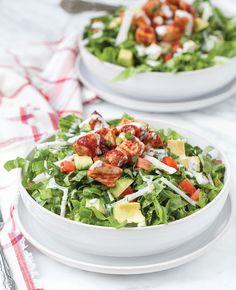 #Healthy, gluten and dairy free chicken #recipe--  Barbecue Chicken Chopped Salad! Yum!