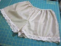 Пижамные шорты за пару минут. Мастер-класс (Шитье и крой) | Журнал Вдохновение Рукодельницы