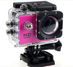 Full HD- 1080-P Sports and Action Camera Water Proof