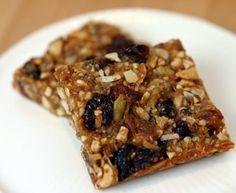Grain and Sugar Free Granola Bars