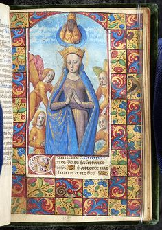 Book of Hours, M.58 fol. 45r - Images from Medieval and Renaissance Manuscripts - The Morgan Library & Museum