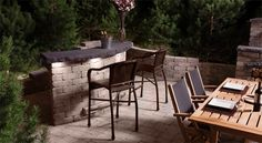 Stone Oasis Collection: Outdoor Fireplace & Fire pits   barkman   barkman