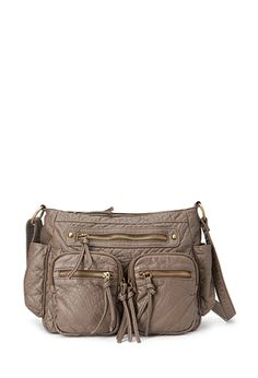 Textured Faux Leather Satchel   FOREVER 21 - 1000137494. $14.90