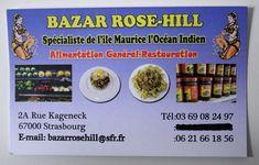 Bazar Rose-Hill, saveurs de l'ile Maurice à Strasbourg