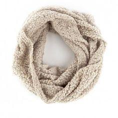 Metallic and Knit Muffler
