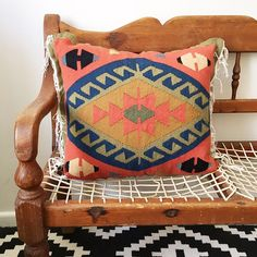 Caroli with her beautiful coral and navy accents, hails from Egypt. Cotton & Wool x Free delivery in South Africa Kilim Cushions, Throw Pillows, Coral Navy, Home Decor Items, Free Delivery, Egyptian, South Africa, Beautiful Homes, Range