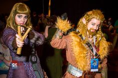 Female Dwarves    via Pledging Geek | Third 40 Cosplays DragonCon 2013