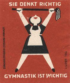 east german matchbox