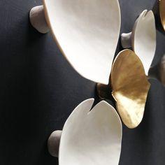 3D Wall art sculpture Calla lily Porcelain by PrinceDesignUK