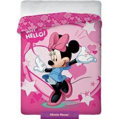 Minnie Mouse bedspred 160x200 cm | Narzuta dziecięca Myszka Minnie 02