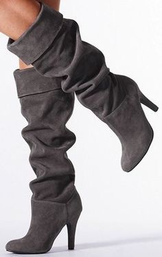 ...grey suede boots, short or long! (Endless Seas)