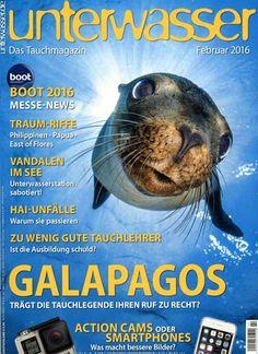 Galapagos - Trägt die Tauchlegende ihren Ruf zu recht? Gefunden in: Unterwasser, Nr. 2/2016