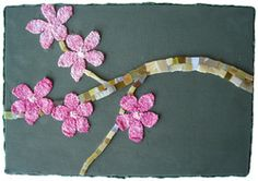 """""""Blossoms""""  when knitting and stained glass collide"""