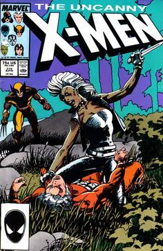 The Uncanny X-Men #216 (1981 series) - cover by Barry Windsor-Smith